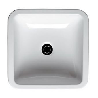 Ideal Standard White Cube 40cm Vessell Basin