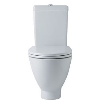Ideal Standard White Round Close Coupled Toilet