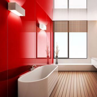 Lustrolite High Gloss Bathroom Panels