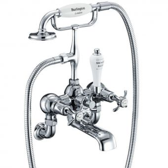 Burlington Anglesey Wall Mounted Bath Shower Mixer