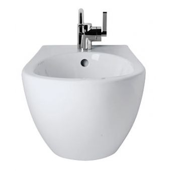 Ideal Standard White Round Wall Hung Bidet