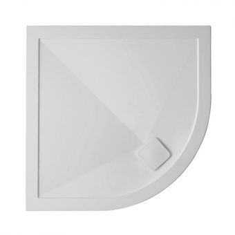 Crosswater 25mm Kai Stone Resin Quadrant Shower Tray