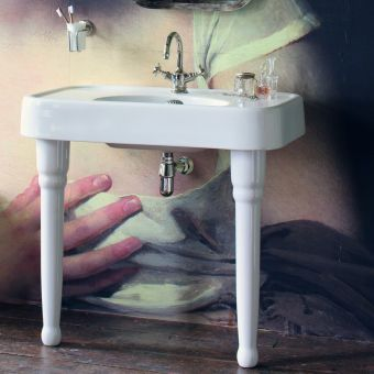 Arcade Medium 90cm Basin with Console Legs