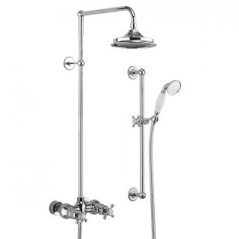 Burlington Eden Exposed Valve Shower Kit with Slide Rail