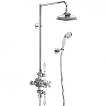 Burlington Avon Exposed Valve Shower with Handset