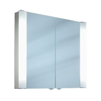 Schneider Splashline 2 Door Illuminated Mirror Cabinet