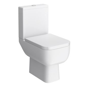 RAK Series 600 Open Back Close Coupled Toilet Suite