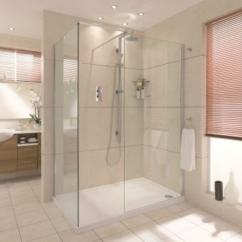 Aqata Spectra SP405 Walk In Corner Shower