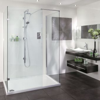 Aqata Spectra SP415 Walk In 3 Side Shower Enclosure