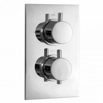 Phoenix Concealed Thermostatic Shower Valve with 2 Way Diverter