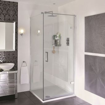 Aqata Spectra SP456 Hinged Corner Shower Enclosure