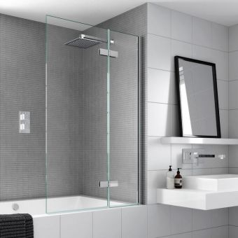 Aqata Spectra SP485 Outward Opening Bath Screen