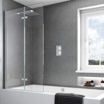 Aqata Spectra SP490 Inward Opening Bath Screen
