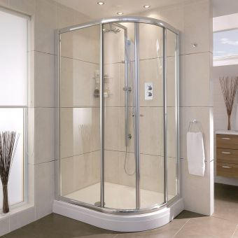 Aqata Exclusive Solutions ES360 Offset Quadrant Shower