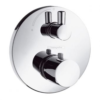 Hansgrohe Ecostat S Thermostatic Shower Valve for 1 Outlet with Ibox Universal