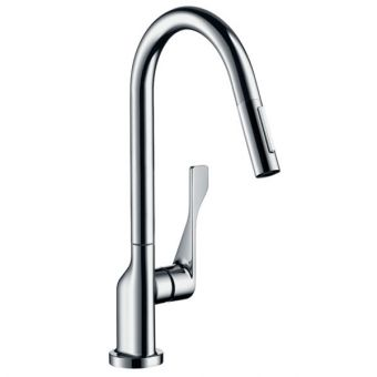 hansgrohe Axor Citterio Kitchen Mixer with Pull-out Spray