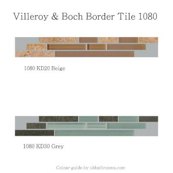V & B Moonlight Border Tile 1080 (5 x 30cm)