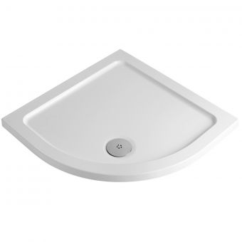 MX Elements Quadrant Shower Tray with Waste