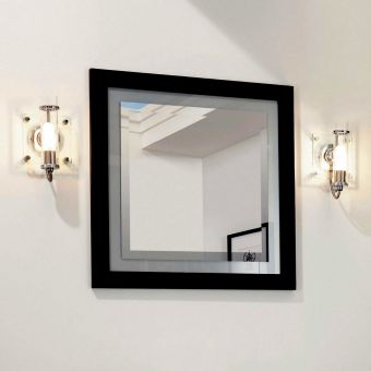 Imperial Linea Mirror with Opaque Border