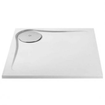 MX Optimum Square Shower Tray with Waste
