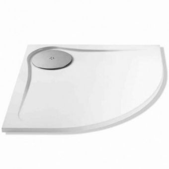 MX Optimum Quadrant Shower Tray with Waste