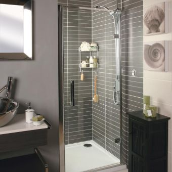 Roman Embrace Hinged Shower Door
