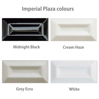 Imperial Plaza Bevel Wall Tiles 7.5 x 15cms