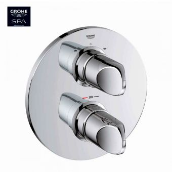 Grohe Veris Thermostatic Shower Valve with Diverter and Rapido T Box