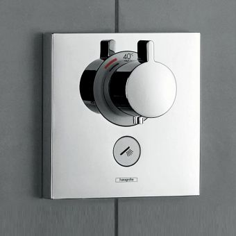 Hansgrohe ShowerSelect Thermostatic Shower Valve for 1 Outlet