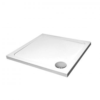 April 760x760x45mm Stone Resin Shower Tray