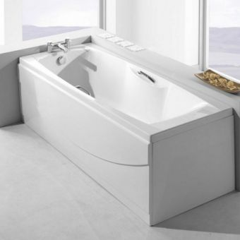 Carron Imperial 1700x700mm Single Ended Bath with Twin Grips