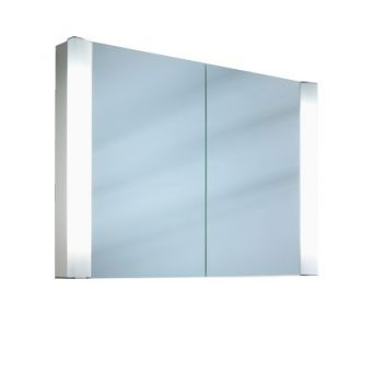 Schneider Splashline 2 Door Mirror Cabinet