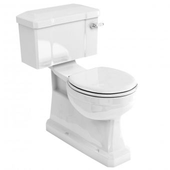 Burlington Vertical Outlet Close Coupled Toilet