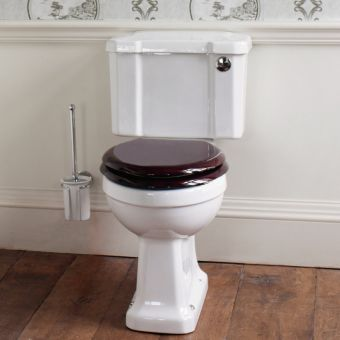 Burlington Slimline Close Coupled WC (440mm)