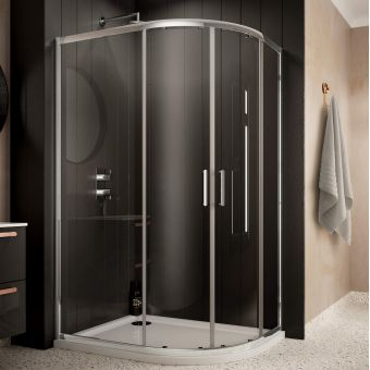 Sommer 6 Offset Quadrant Shower Enclosure