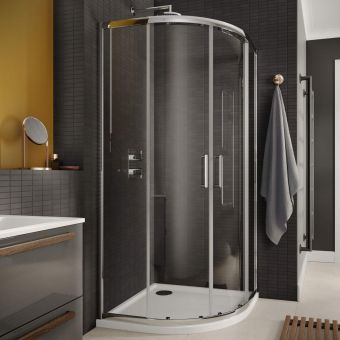Sommer 6 Quadrant Double Door Shower Enclosure