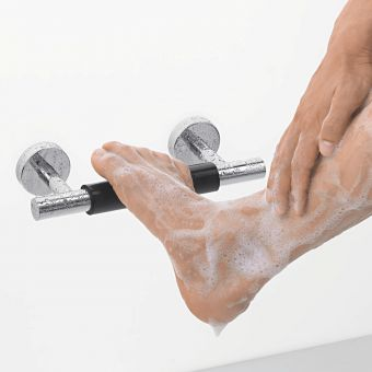 hansgrohe Unica Comfort Shower Foot Rest - 26329000HG
