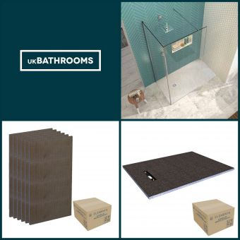Origins Linear Wet Room Shower Pack 3