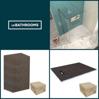 Origins Linear Wet Room Shower Pack 3 - M8SW241