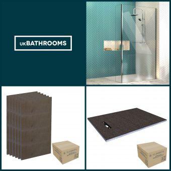 Origins Linear Wet Room Shower Pack 6 - M8SW241SV