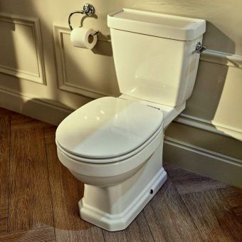 Roca Carmen Close Coupled Rimless Toilet
