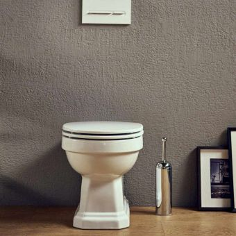 Roca Carmen Rimless Back to Wall Toilet