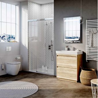 Crosswater Premium Ensuite Bathroom Package - MERLPCB0003