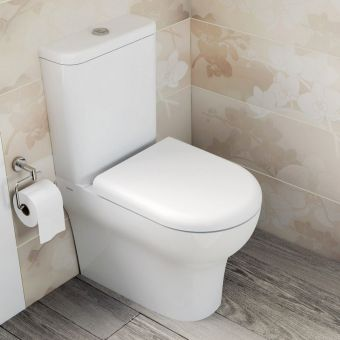 VitrA Zentrum Closed Coupled WC - 5780WH