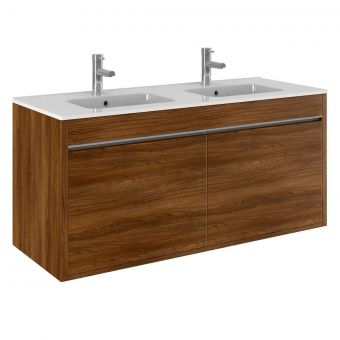 Crosswater Kai Double Drawer Vanity Unit with Basin