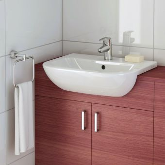 VitrA S20 Semi-recessed Washbasin - 5524WH