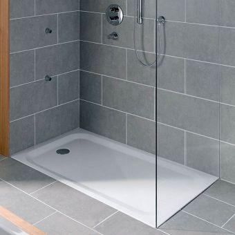 Bette Ultra 25mm Rectangular Steel Shower Tray