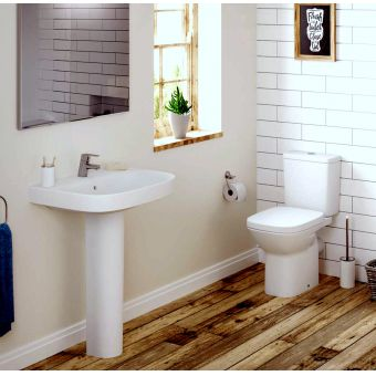 Roca Debba Eco Toilet and Basin Suite