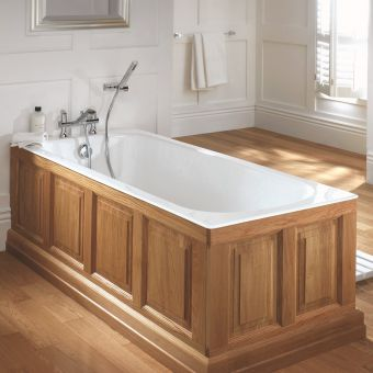 Imperial Harrington Single Ended Cast Iron Bath