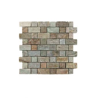 Abacus Natural Stone Brick Tile 30.5 x 30.5cm